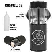 UCO 9 hour Candle Lantern Kit - Grey